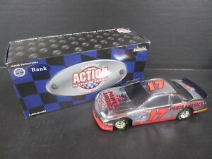 1997 Action  #17 Darrell Waltrip Parts America Chrome Bank Car -- 1/24th scale