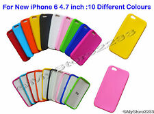 "10 X Gel Silicone Case Cover Back Cover for Apple iPhone 6 4.7"" Case Cover"