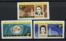 North Vietnam 1964 SG#N299-N301 Space Flights MNH Imperf Set #A60316