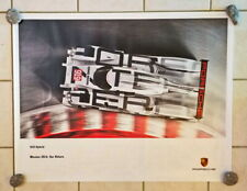 Porsche Original Factory Poster - 919 Hybrid 2014 - to support veteran programs