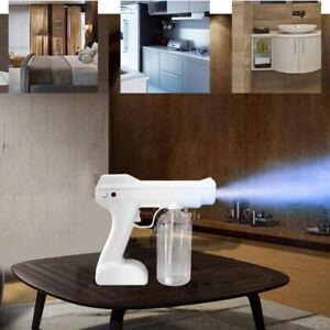 10W Nano Sanitizer Spray Sprayer Cordless Disinfectant Machine Gun White