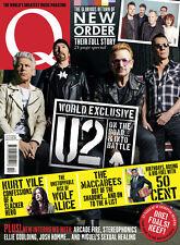 Q Magazine Q352 August 2015, U2 BONO NEW