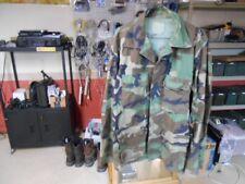 Vintage US Army Woodland Camoflage Camo BDU Shirt Medium Regular Jacket USA Made