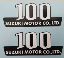 SUZUKI A100M 1975  SIDE PANEL DECALS