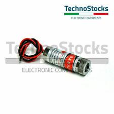 1x Laser Rosso 650 nm 5mW Linea Livella - Line Level 5V 12x35 mm Red driver APC