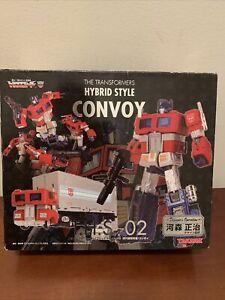 Transformers Hybrid Style THS Convoy Figure 92 Optimus Prime NEW Takara 2006
