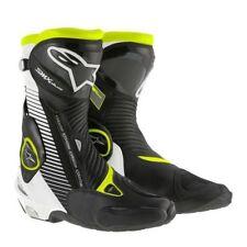 Motorradstiefel ALPINESTARS SMX-PLUS fluoreszierend/gelb/schwarz/weiß Größe 39
