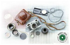 Werra Matic Vintage RF Camera w/ Carl Zeiss Jena 50/2.8 Cardinar 100/4 Konvolut