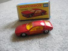 Matchbox  Superfast  20  Maserati