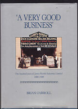 A VERY GOOD BUSINESS : JAMES HARDIE INDUSTRIES - CARROLL building materials as