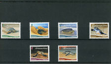 Ascension Island 2015 MNH Green Turtle Airmail Postcard 6v Set Reptiles Turtles