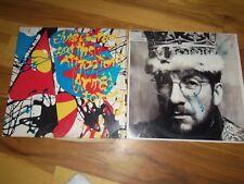 Vintage Vinyl Lp Records Rock Blues Elvis Costello