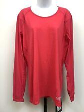 Arcteryx Womens Hiking Shirt Wool Blend Lana Comp Long Sleeve XL Pink NWT $115