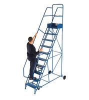 New Mobile Steel Safety Steps - UK Manufactured - 300Kg Safe Working Load