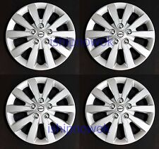 "NEW SET (4pcs) 16"" Hubcap Wheel cover Fits 2010-2017 NISSAN SENTRA ALTIMA ROGUE"