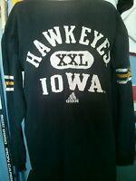 Iowa Hawkeyes Adidas youth long sleeve NCAA Big 10