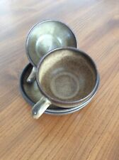 Denby Romany Pair Of Cups And Saucers