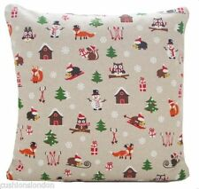 Children's Christmas Square Decorative Cushions