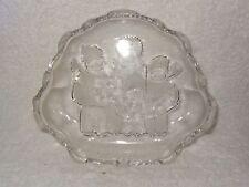 Mikasa Crystal Glass Sweet Dish- Carolers- Christmas- Made in Japan