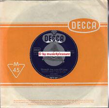 "♫ 7"" 1950s Lys Assia THROUGH THE EYES OF LOVE  Scusami ENGLISCH Decca 18600 NM ♫"