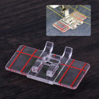Clear Parallel Stitch Foot Presser for Brother Juki Janome Singer Sewing Machine