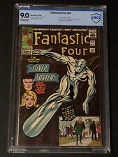 Fantastic Four #50  Classic Silver Surfer Cover Beautiful!  CGC CBCS 9.0