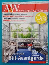 A&W Architektur und Wohnen Ausg. 3/2017 Juni-Juli  ungelesen 1A absolut TOP