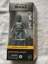 NEW?SHIPS TODAY? Star Wars The Black Series Mandalorian Loyalist The Clone Wars