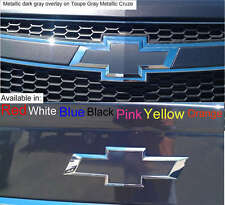 "2-5""x10"" Metallic Dark Gray vehicle graphic sheets. Universal Bowtie Vinyl Skins"