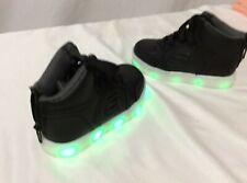 SKECHERS SKX Lights ON/OFF Boy's Shoes, Black, Toddler Size 6/ Uk 5/ Eur 21.5