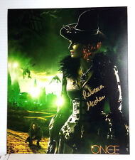 Rebecca Mader/Bad Witch Zelena ONCE UPON A TIME 8x10 Autograph Photo (EBAU-1181)