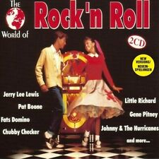 World of Rock'n Roll Jerry Lee Lewis, Pat Boone, Fats Domino, Chubby Ch.. [2 CD]