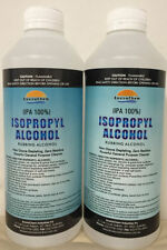 2x1L Isopropyl Alcohol, Isopropanol 100%, Rubbing, Airbrush Cleaner