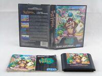 Taz Mania Mega Drive Sega Complete PAL