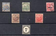 Barbados Valores Coloniales año 1892-934 (DX-501)