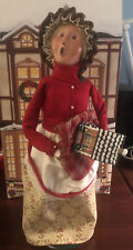New ListingByers Choice Caroler Traditional Woman Gingerbread Family 2009 With House