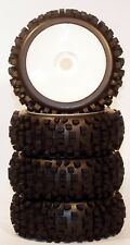 1/8 Big-Blocks WD Pre-Mounted 1/8 Buggy Tires Glued