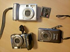 Lot of Cannon Digital Cameras for Repair or Parts