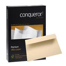 Conqueror Texture Creme A4 Papier und C6 Briefumschläge Briefpapier Set Gerippt