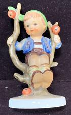 New ListingOriginal Vintage Hummel Goebel West Germany Figurine 142 3/0 Apple Tree Boy