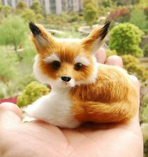 Fox Sitting Fengshui Learning Resources Miniature Plush Stuffed Animal Toy