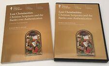 Great Courses Lost Christianities Scriptures & Battles Guidebook & DVDs Set