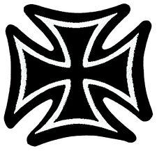 IRON CROSS - Patch Aufnäher - Eisernes Kreuz ca. 8x8cm