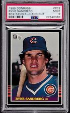 1985 Donruss Box Panels #PC2 RYNE SANDBERG (HOF) PSA 9 MINT tough! bottom