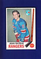 Jean Ratelle HOF 1969-70 O-PEE-CHEE OPC Hockey #42 (EXMT) New York Rangers