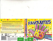 Hi.5-Favourites-2005-Celebrating The First 10 Years-Children Hi5-DVD