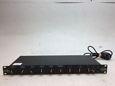 U.S. Audio Whirlwind 8-Channel Stereo Line Mixer Mix 8S, Pulled From Working
