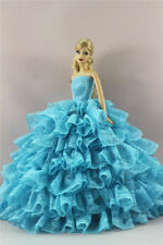 Blue Fashion Royalty Princess Dress/Clothes/Gown For 11 in. Doll