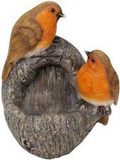 Country Living Robin Bird Feeder Outdoors Decor Nature Garden Tree Summer #NG