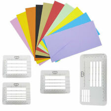 4 X Letter Envelope Address Stencil Templates Ruler Guide For Perfectly Straigh